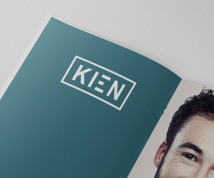 Kien - shaping a new brand identity
