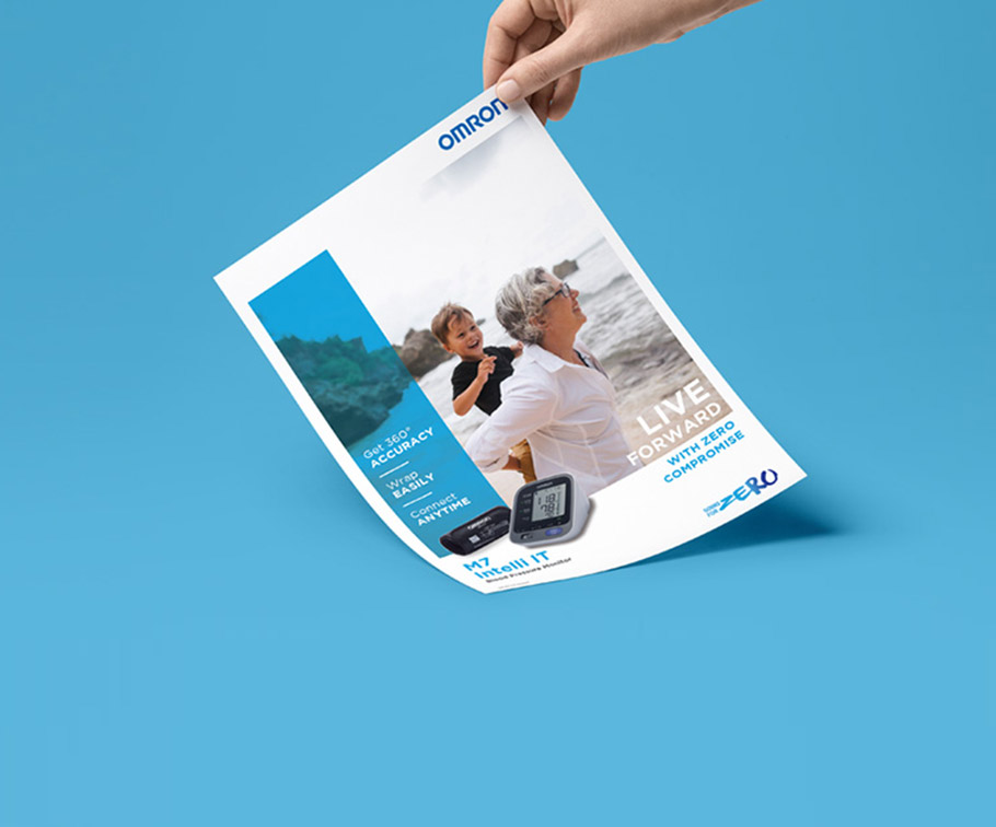 Omron - defining a new vision and image for a human-driven brand